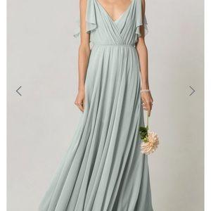 Jenny Yoo Bridesmaid Dress in Morning Mist